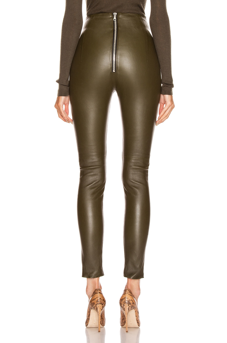 Image 3 of SABLYN Jessica Pant in Olive