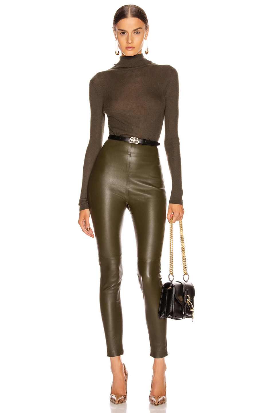 Image 4 of SABLYN Jessica Pant in Olive