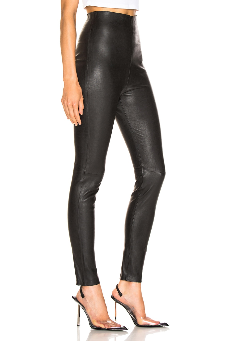 Image 2 of SABLYN Jessica Pants in Black Leather