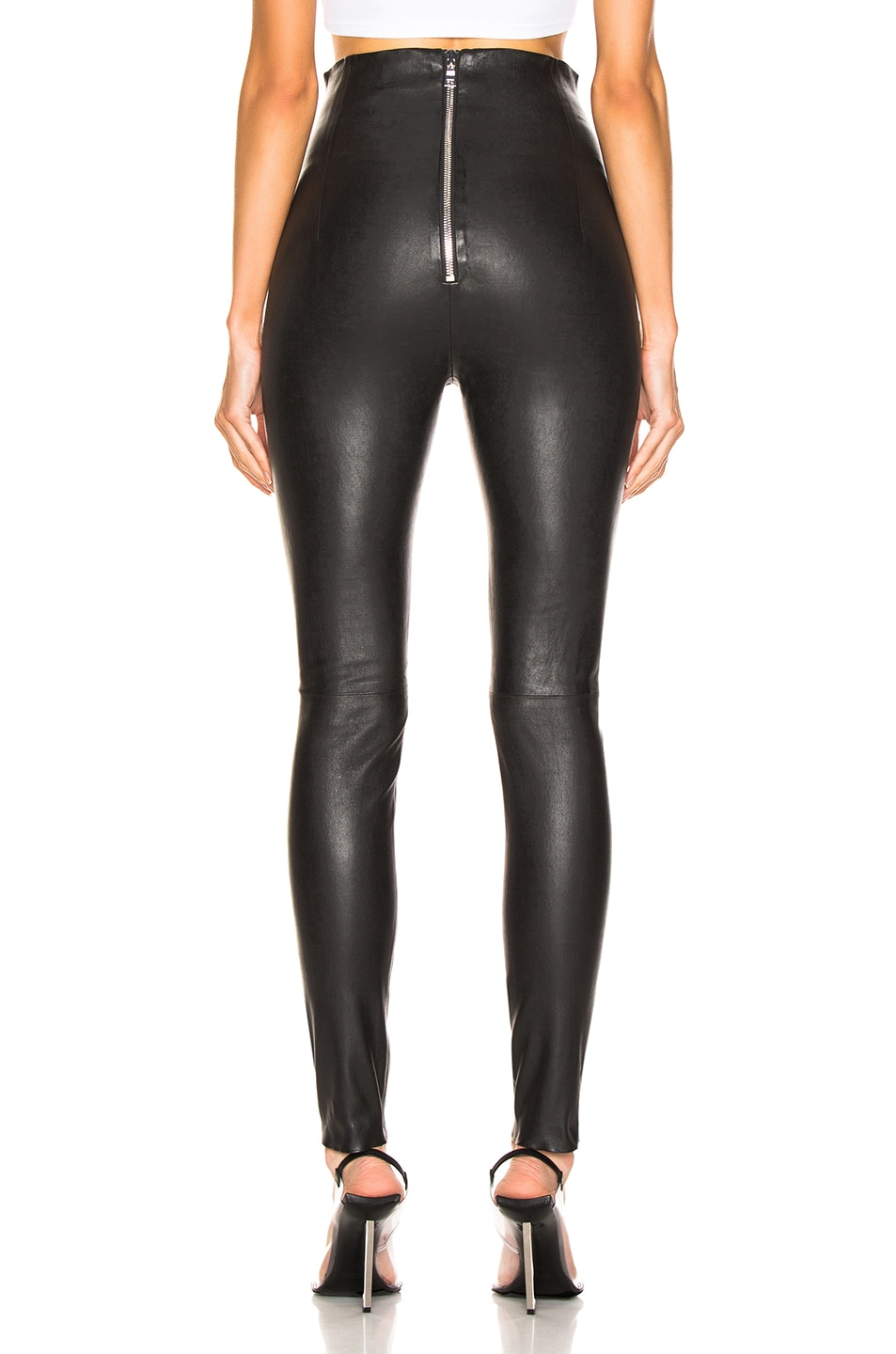 Image 3 of SABLYN Jessica Pants in Black Leather
