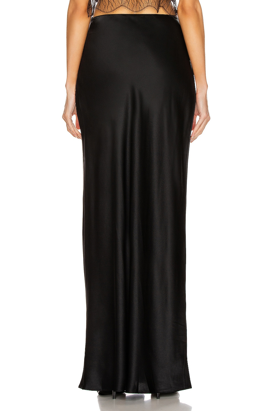 Image 3 of SABLYN Isabella Slit Skirt in Black