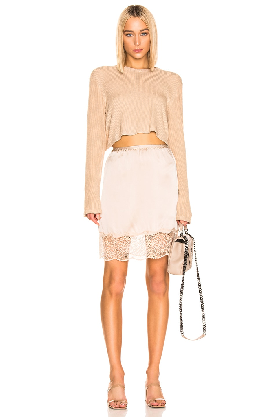 Image 4 of SABLYN Xander Skirt in Blush