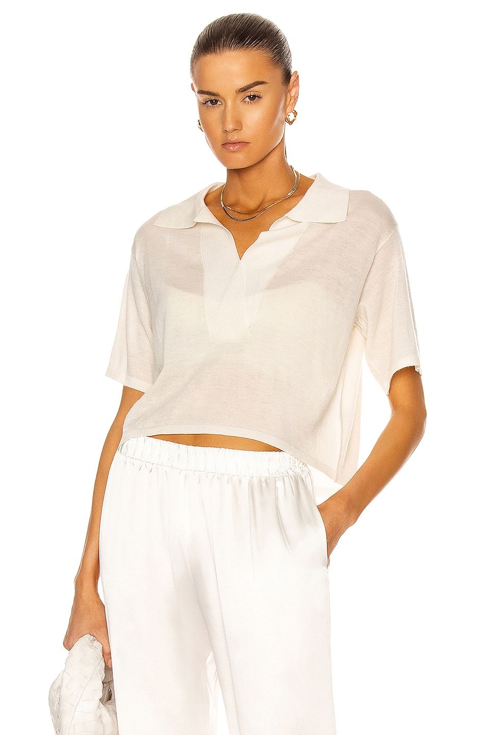 Image 1 of SABLYN Mariel Top in White