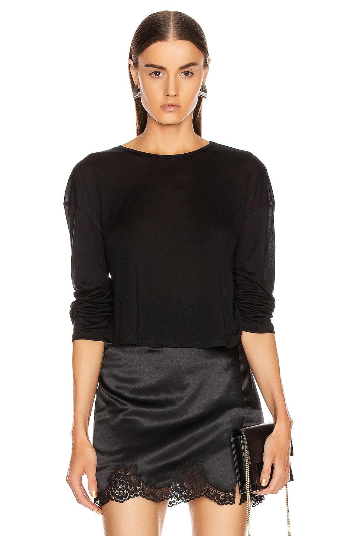 Image 1 of SABLYN Jaimie Top in Black
