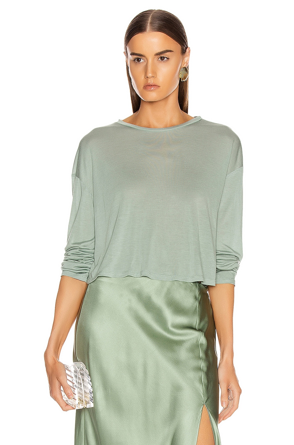 Image 1 of SABLYN Jaimie Top in Mint