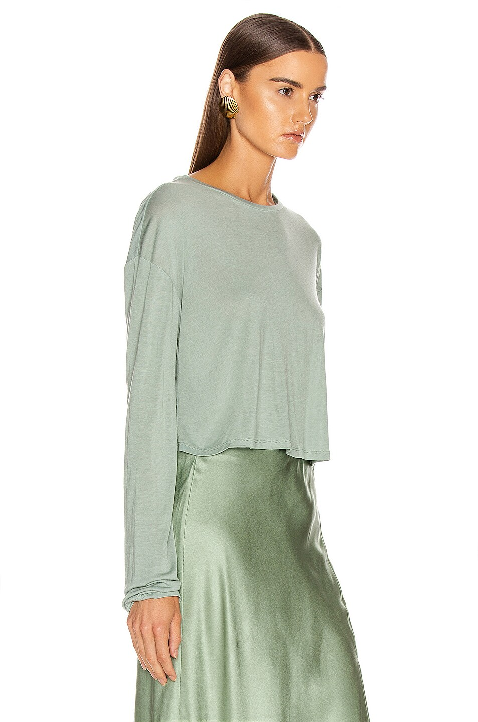 Image 2 of SABLYN Jaimie Top in Mint