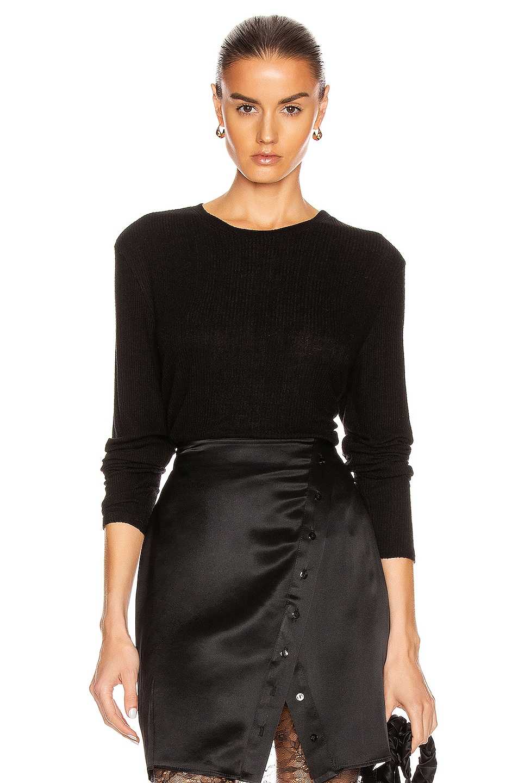 Image 1 of SABLYN Ryder Cropped Top in Black