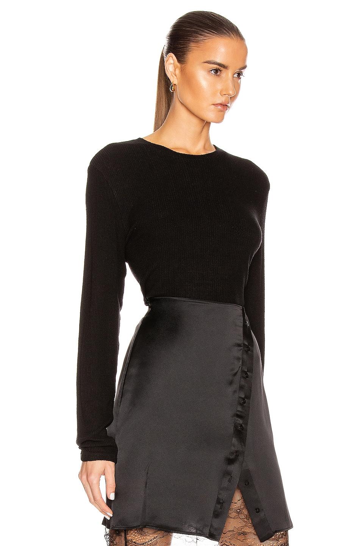 Image 2 of SABLYN Ryder Cropped Top in Black