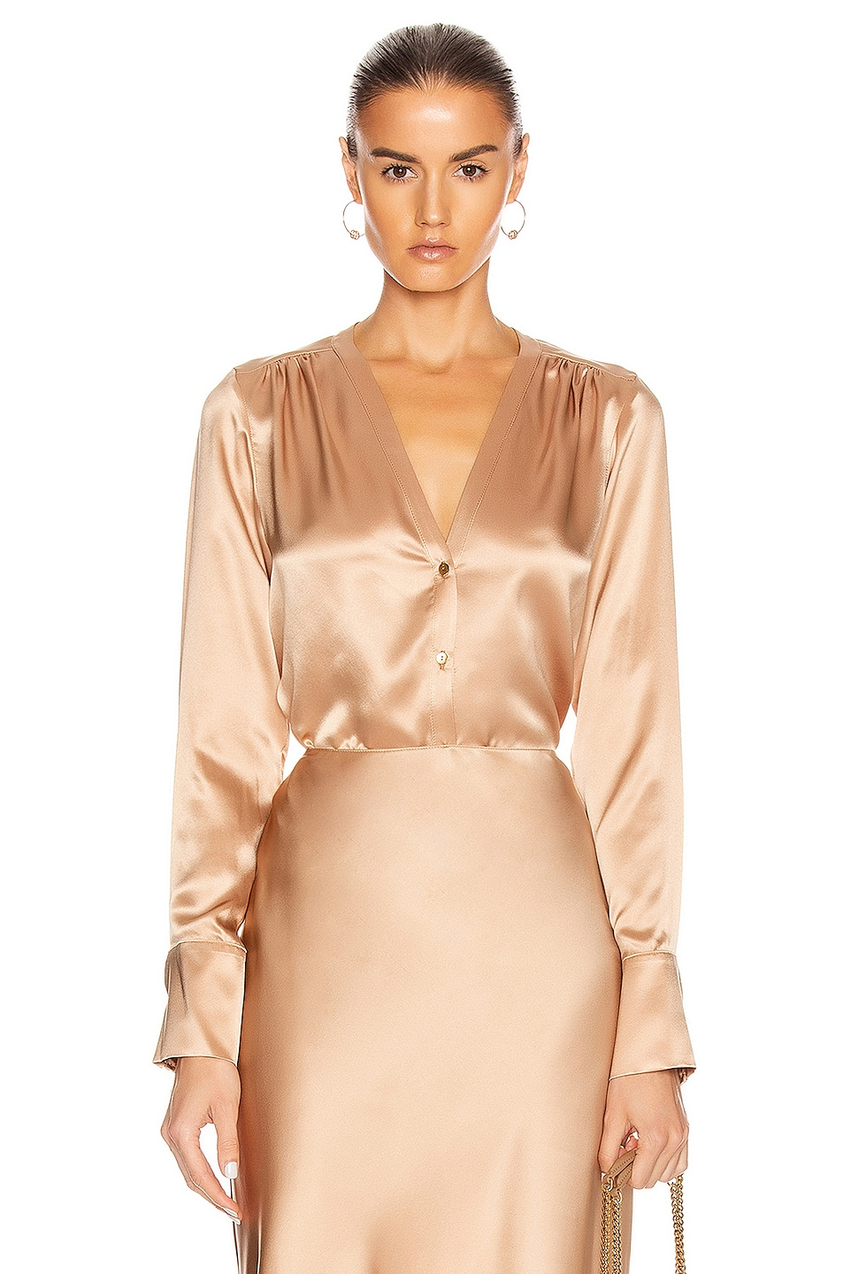Image 1 of SABLYN Tyra Top in Caramel
