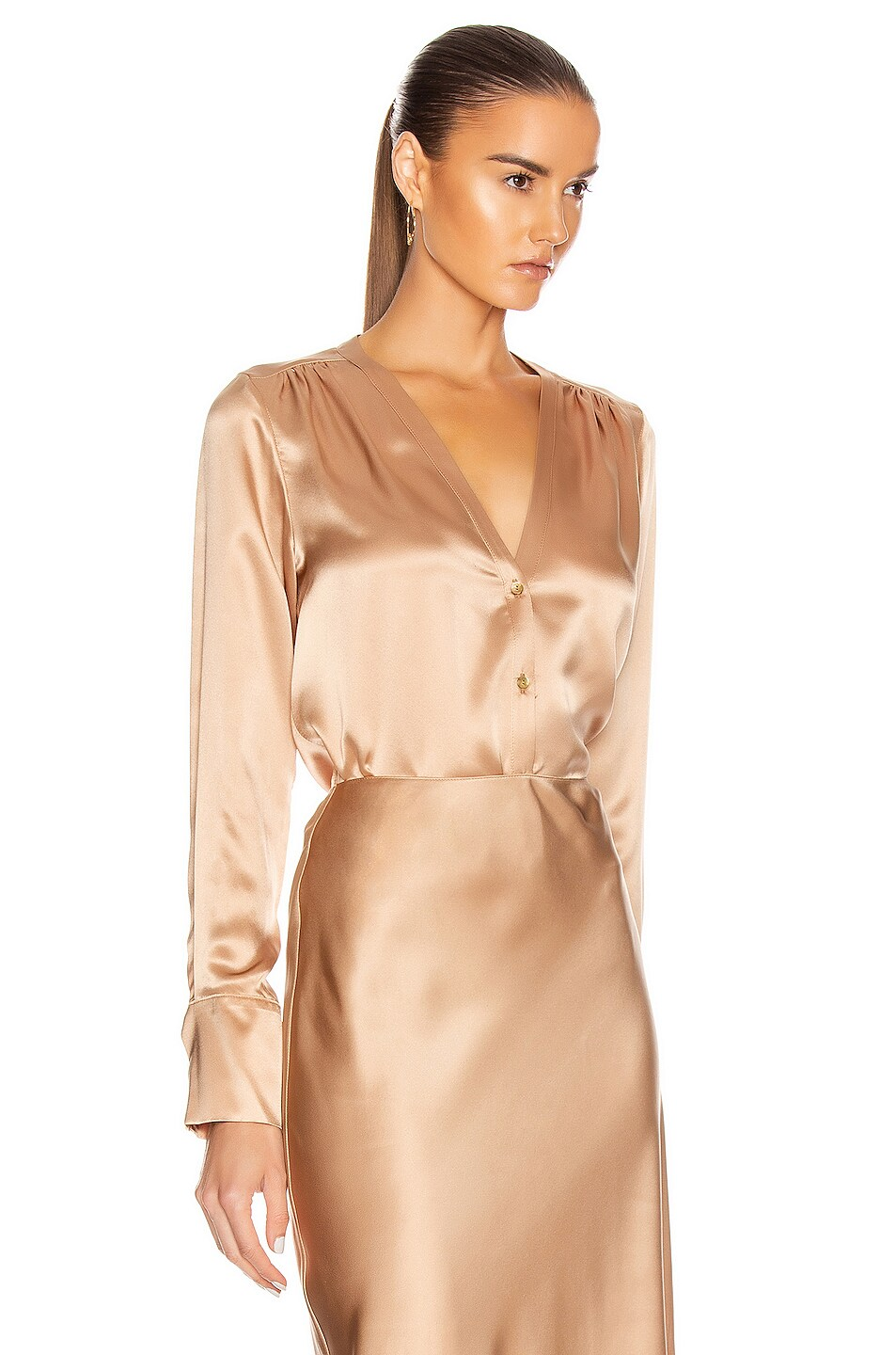 Image 2 of SABLYN Tyra Top in Caramel