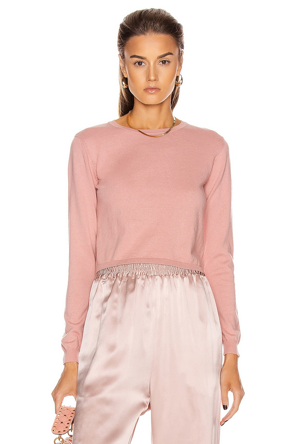 Image 1 of SABLYN Gabriela Long Sleeve Top in Cherry Blossom