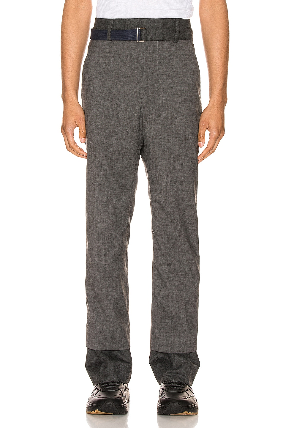 Image 1 of Sacai Suiting Pants in Gray