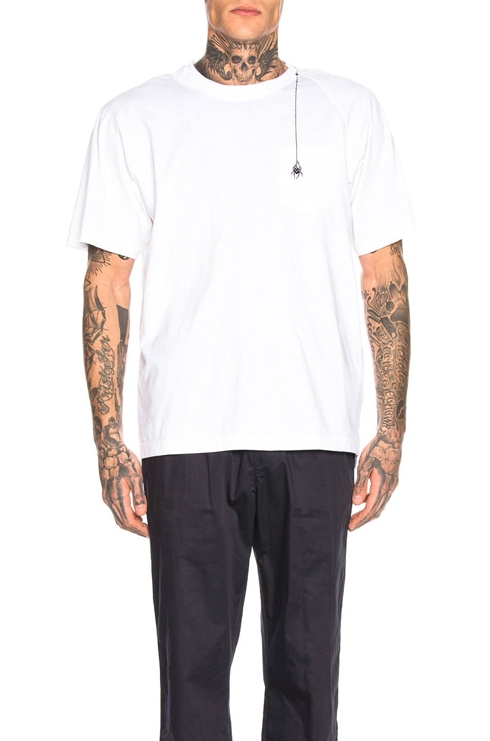 Sacai Accessories Dr. Woo Embroidered Tee