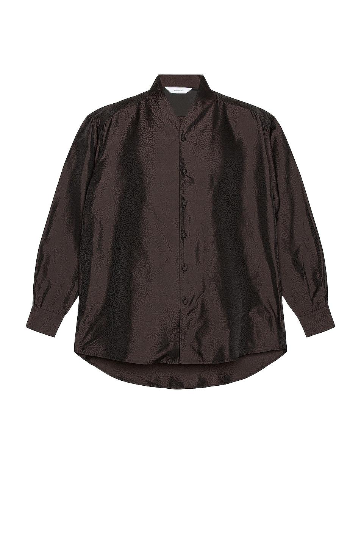 Image 1 of Sasquatchfabrix Taco Karakusa Big Wa-Neck Shirt in Black