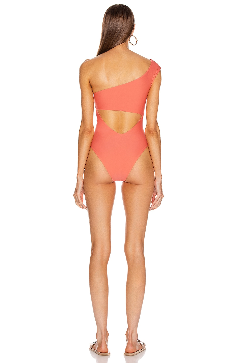 Image 4 of Sebastien Romy Swimsuit in Red & Pink