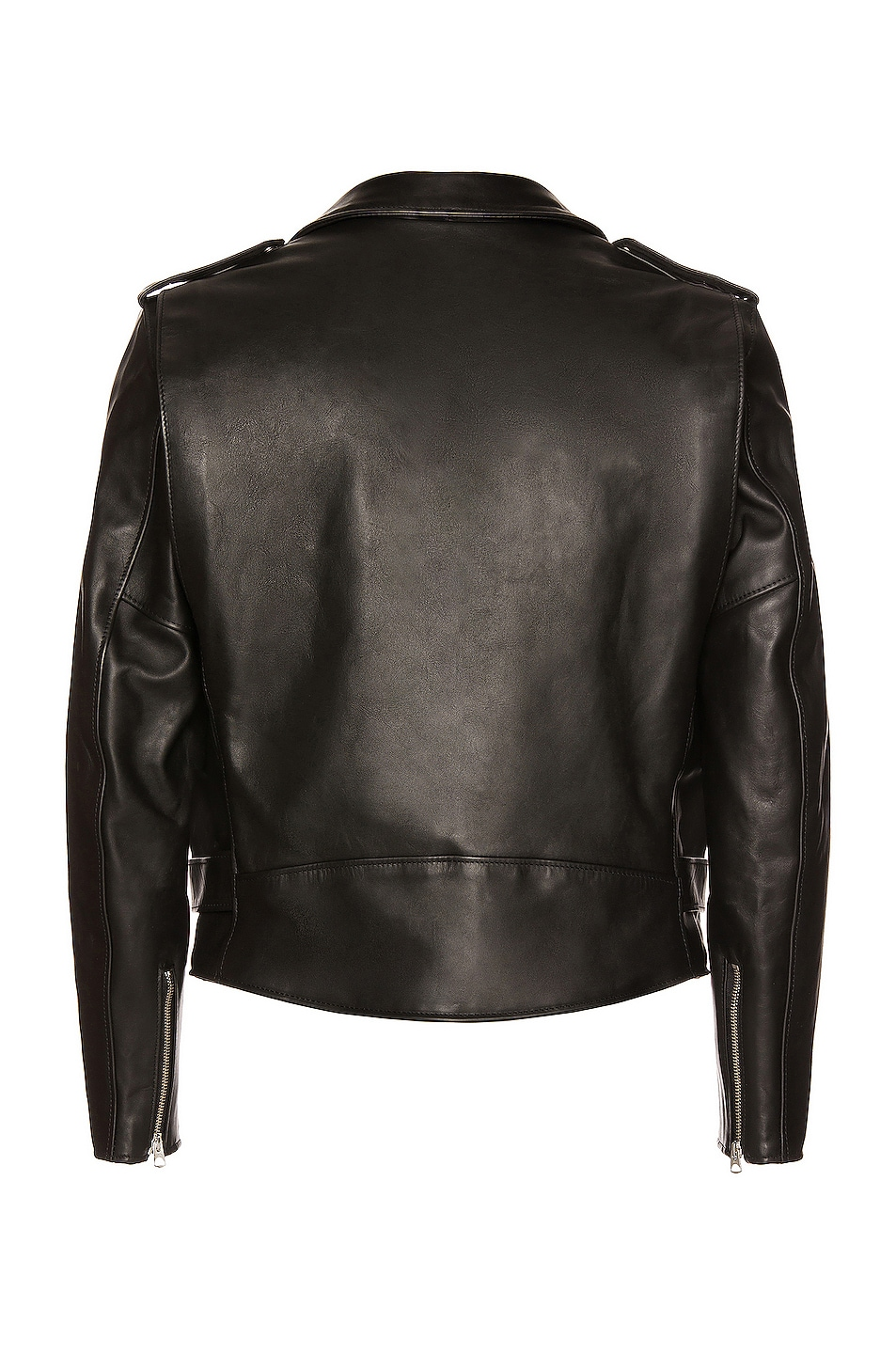 Image 3 of Schott One Star Perfecto Moto Jacket in Black