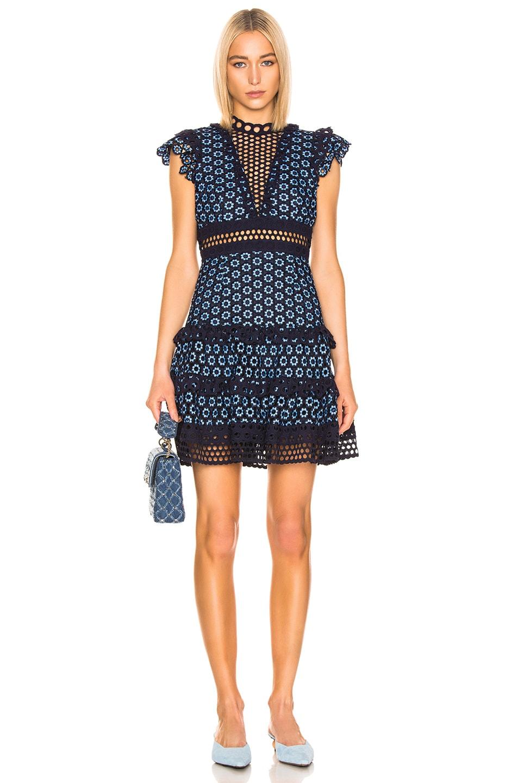 Image 1 of Sea Josie Sleeveless Mini Dress in Blue