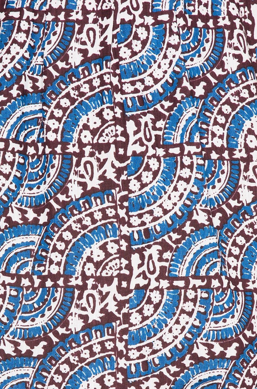 Image 4 of Sea Luella Long Sleeve Scoop Neck Dress in Blue Multi