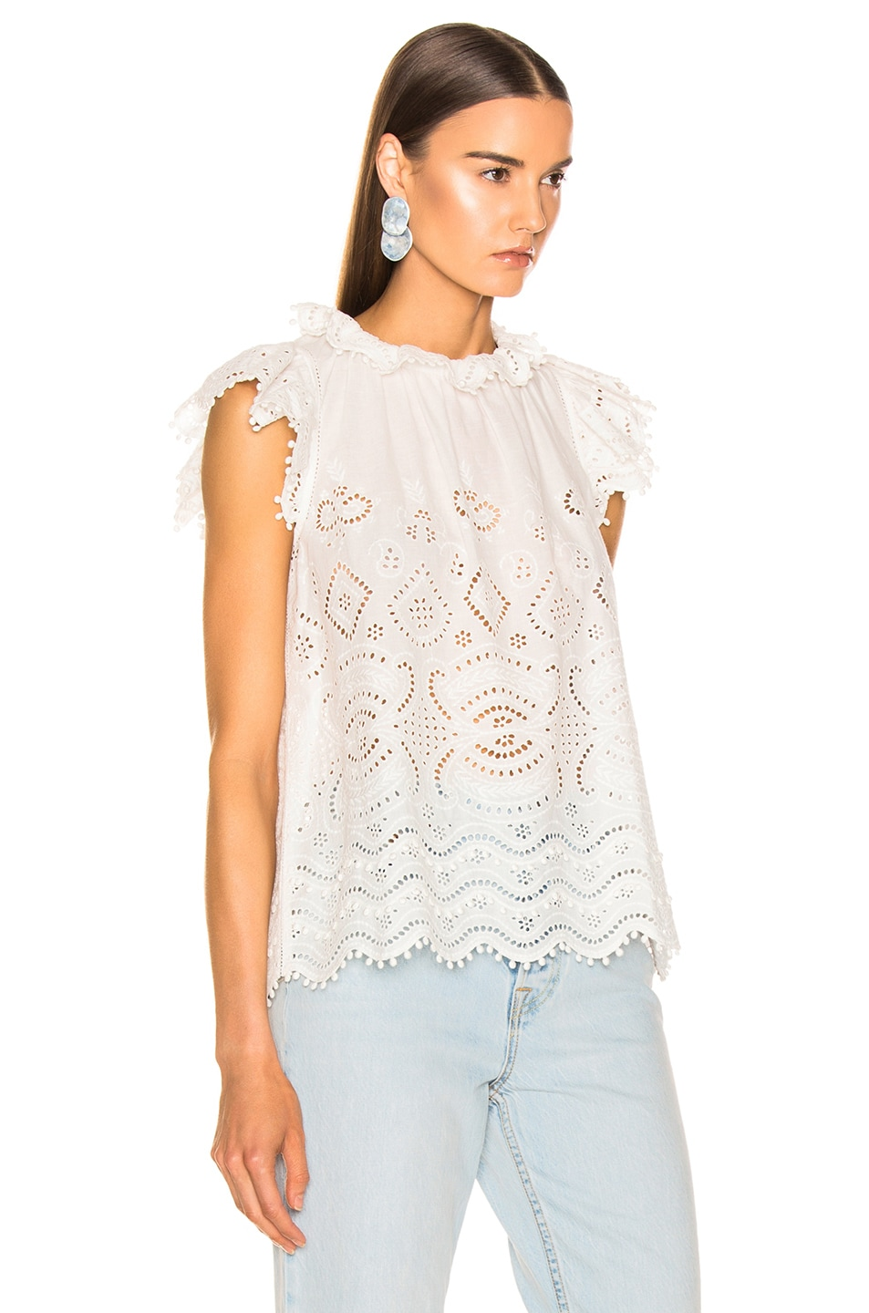 Image 2 of Sea Naomie Flutter Tank in White