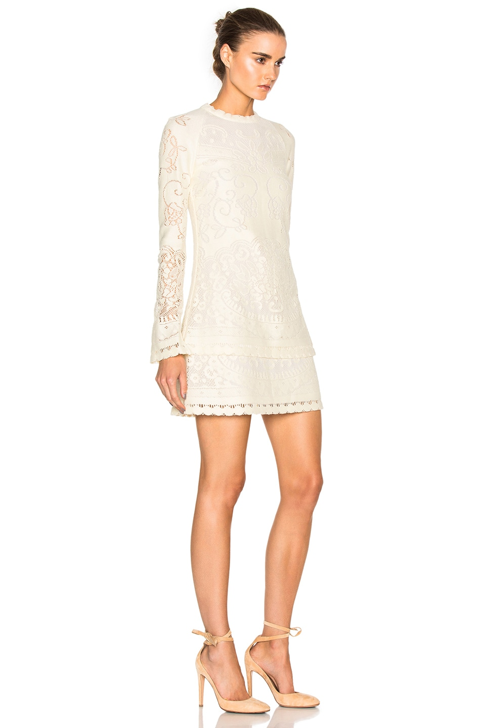 Outlet Cheap Quality Chloé Long Sleeve Mini Dress Buy Cheap 2018 Unisex Cheap Sale Outlet Store Latest Collections Sale Online JpuUbs