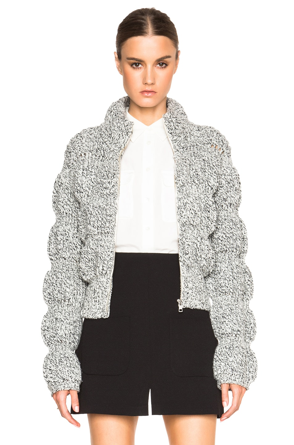 Image 1 of See By Chloe Puffy Jacket in Black
