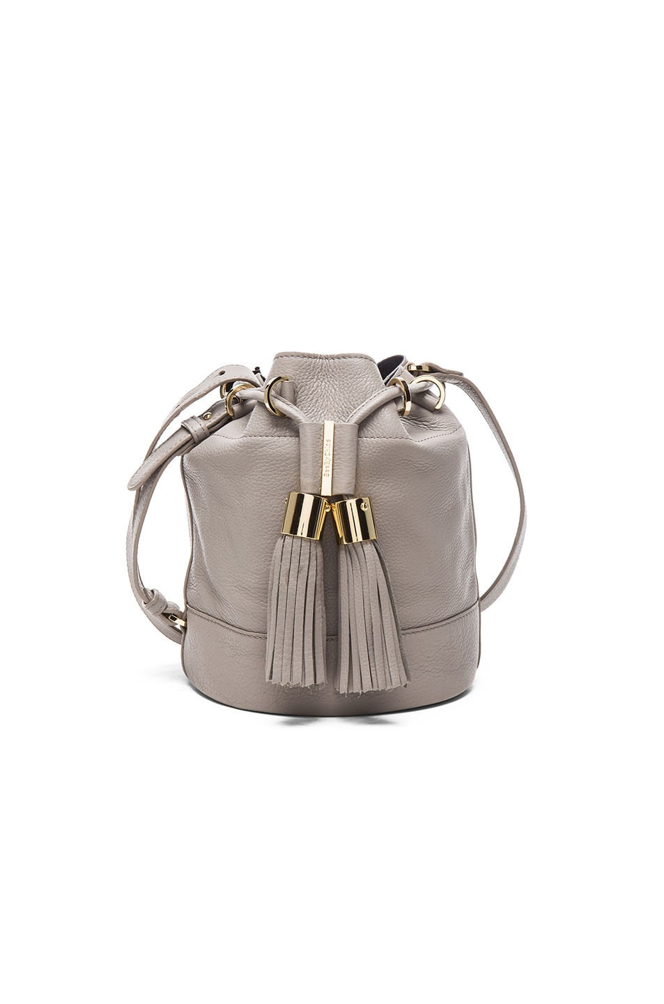 Image 1 of See By Chloe Tassel Crossbody Bag in Cashmere Grey