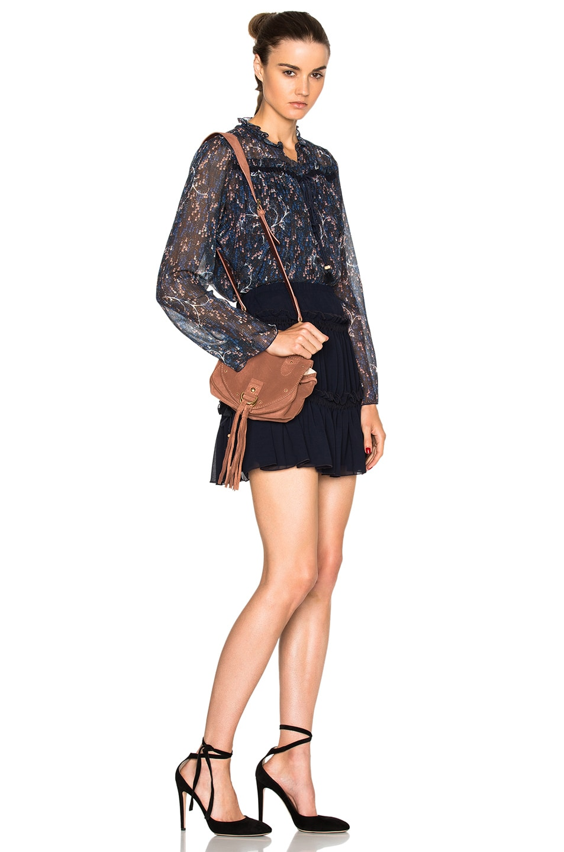 Image 6 of See By Chloe Mini Crossbody Bag in Terracotta