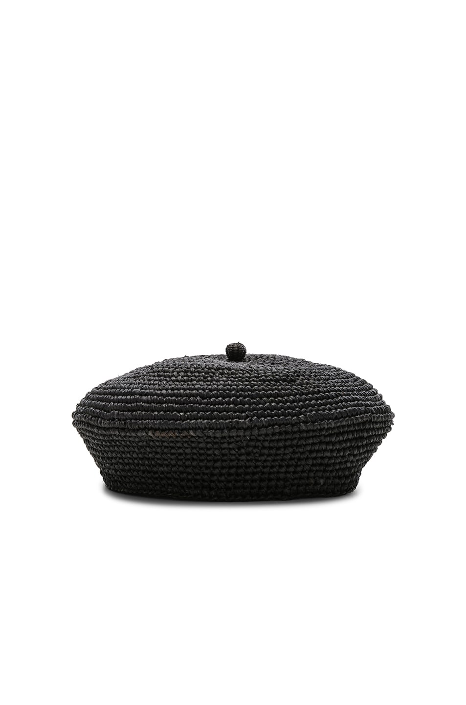Image 1 of SENSI STUDIO Classic Beret in Black