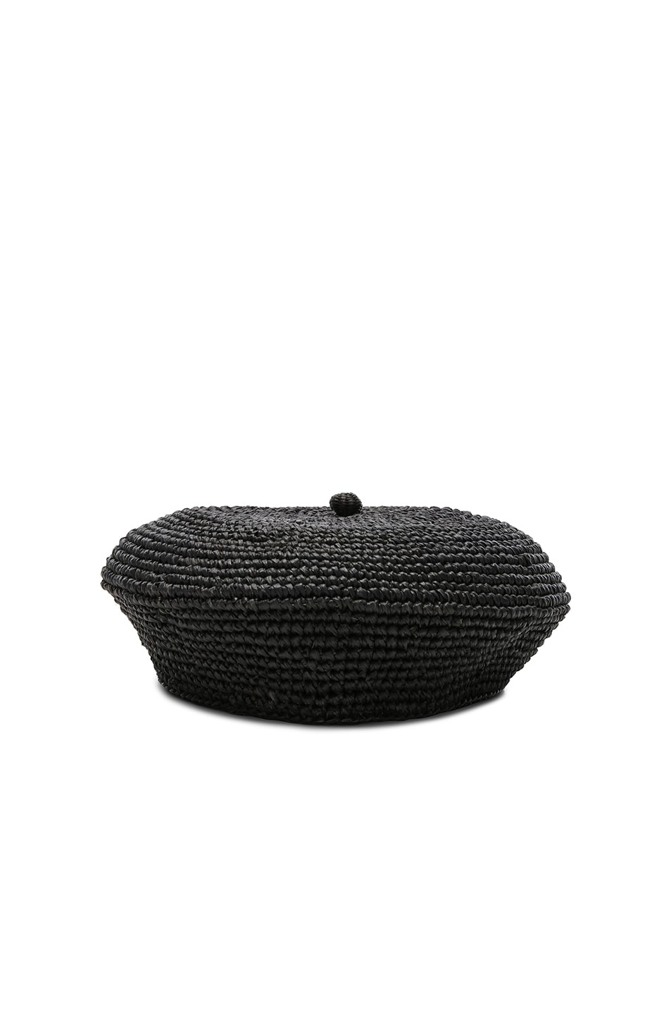 Image 2 of SENSI STUDIO Classic Beret in Black