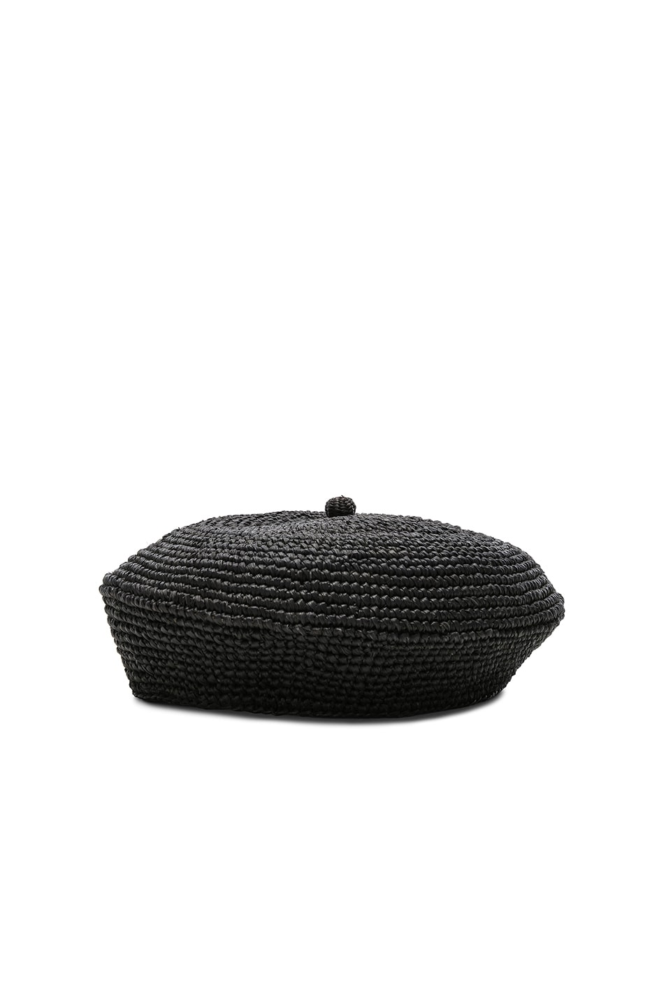 Image 3 of SENSI STUDIO Classic Beret in Black