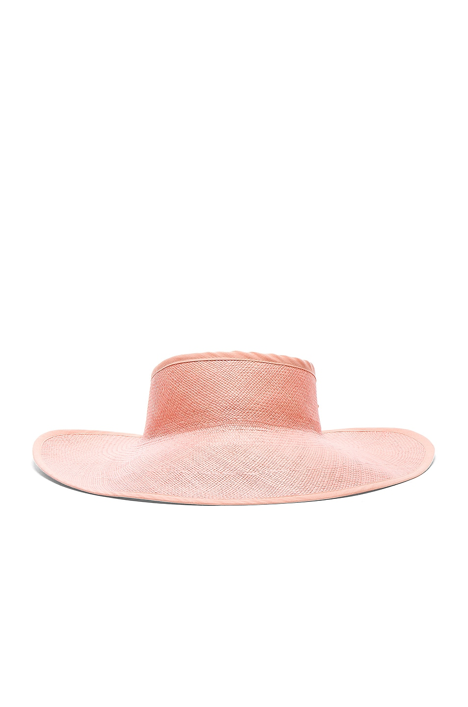 Image 1 of SENSI STUDIO Long Brim Visera Visor in Rose & Rose
