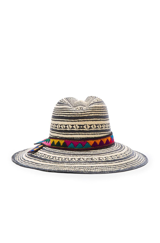Image 4 of SENSI STUDIO Colombia Panama Hat in Natural & Black