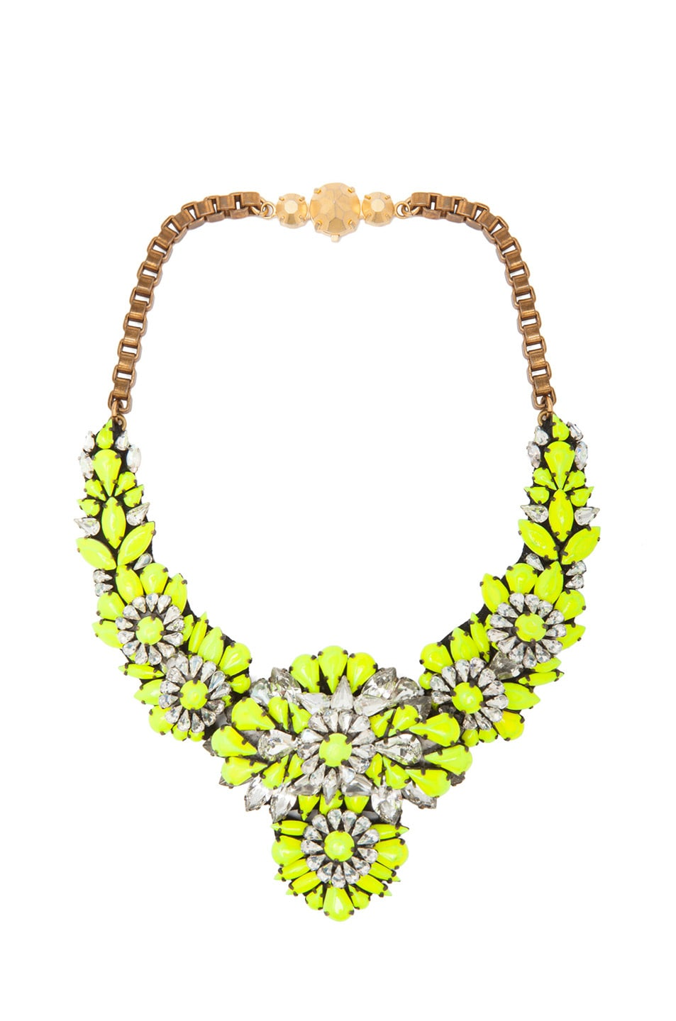 Image 1 of Shourouk Apolonia Necklace in Yellow