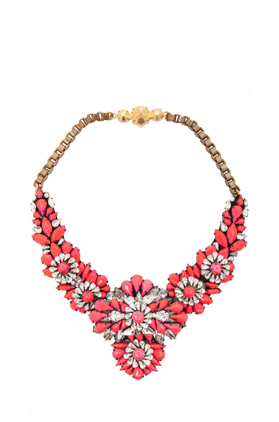 Image 1 of Shourouk Apolonia Necklace in Pink