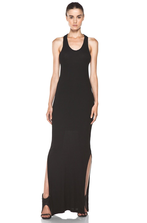 Image 1 of SILENT DAMIR DOMA Basic Tank Dress in Vintage Black