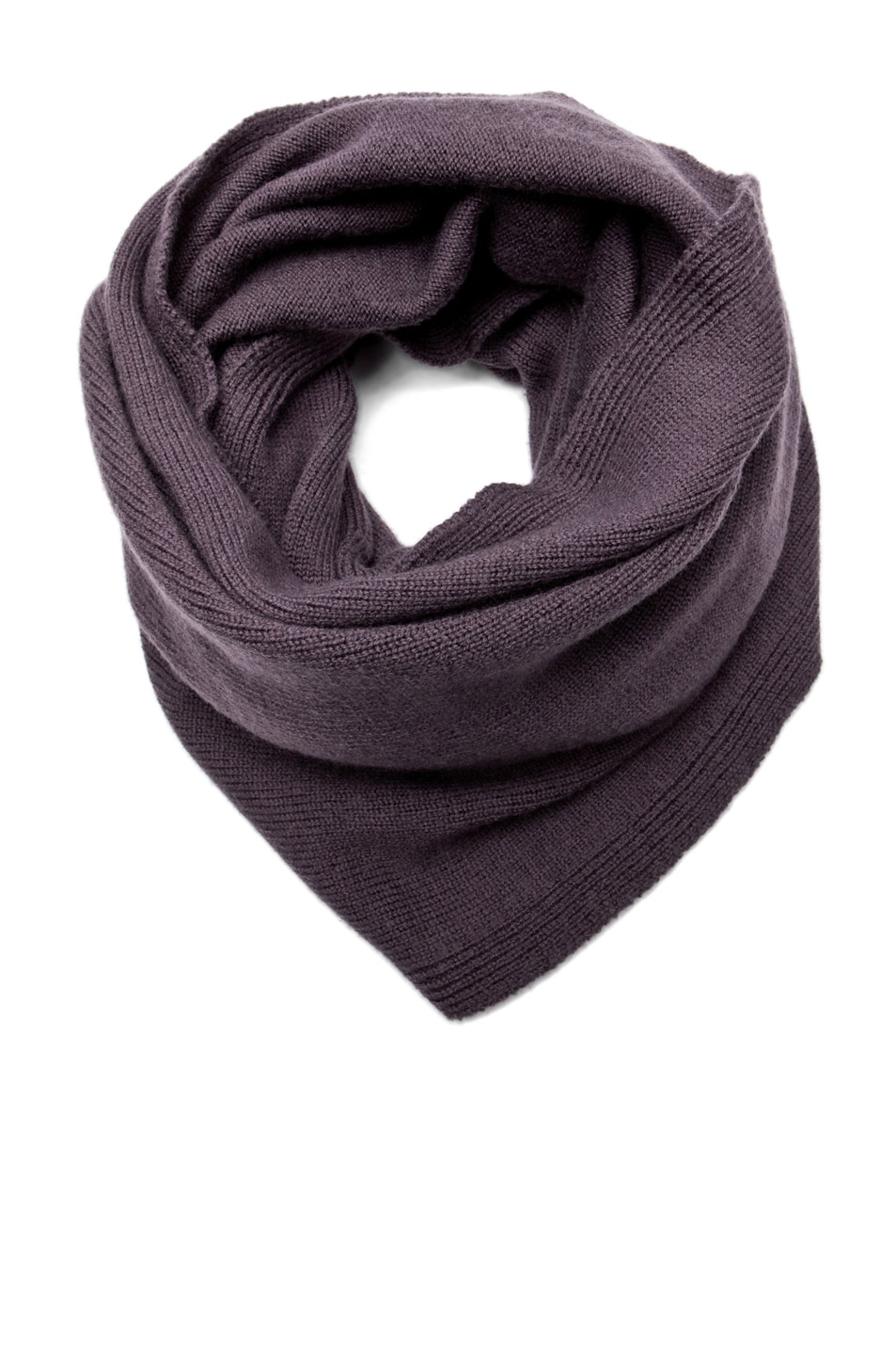 Image 1 of SILENT DAMIR DOMA Scarf in Heather Plum