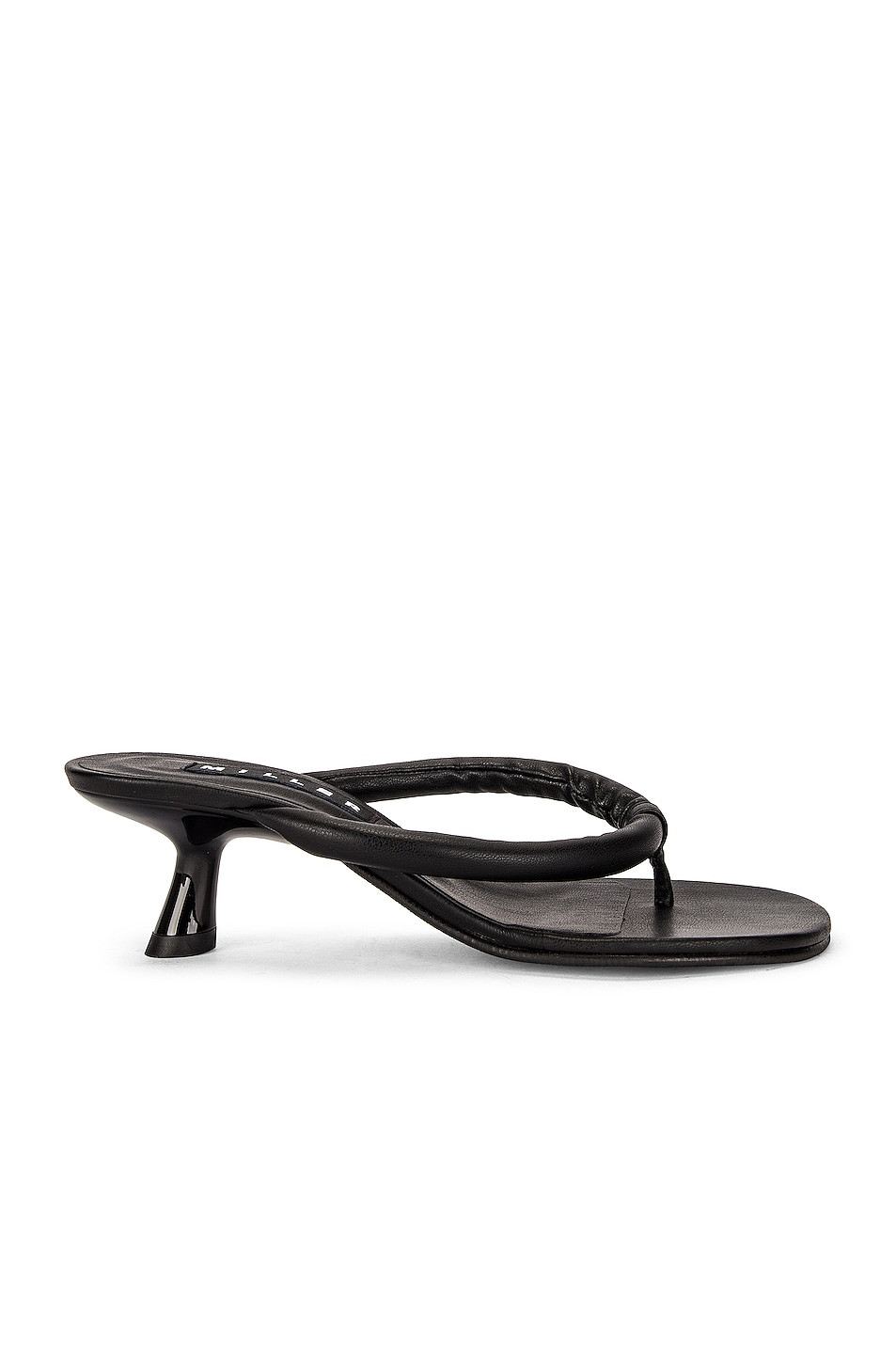 Image 1 of Simon Miller Vegan Beep Thong Sandal in Black