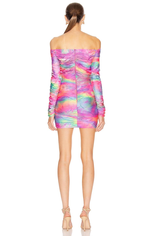 Image 4 of Sies Marjan Jolene Glitter Tie Dye Dress in Multicolor