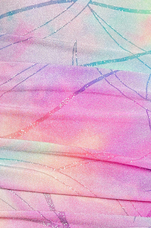 Image 5 of Sies Marjan Jolene Glitter Tie Dye Dress in Multicolor
