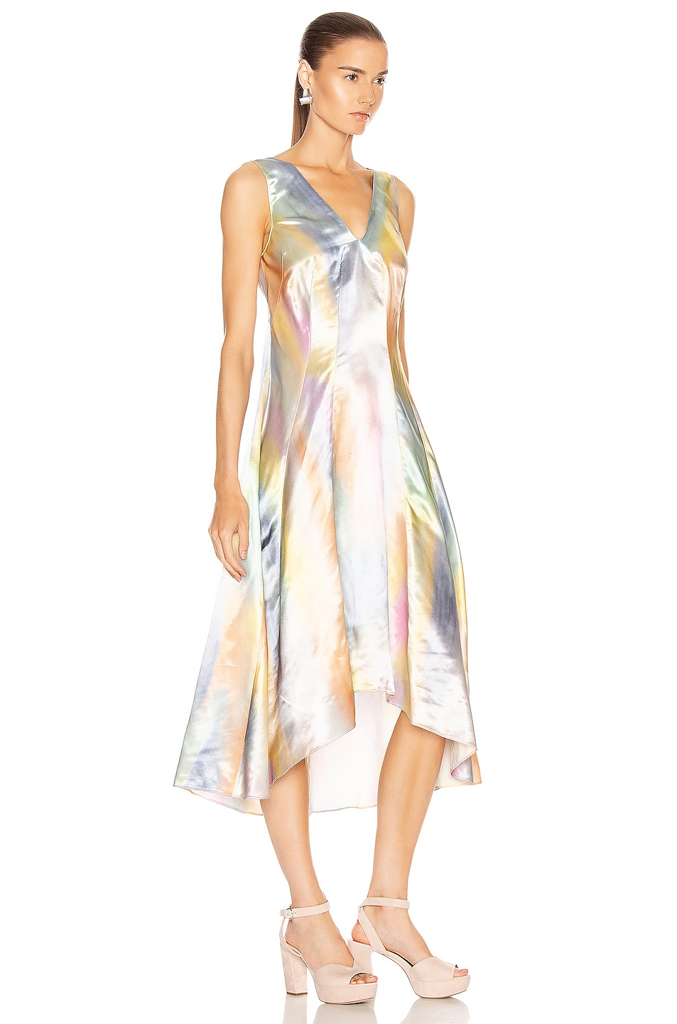 Image 2 of Sies Marjan Miriam Midi Dress in Multi Print