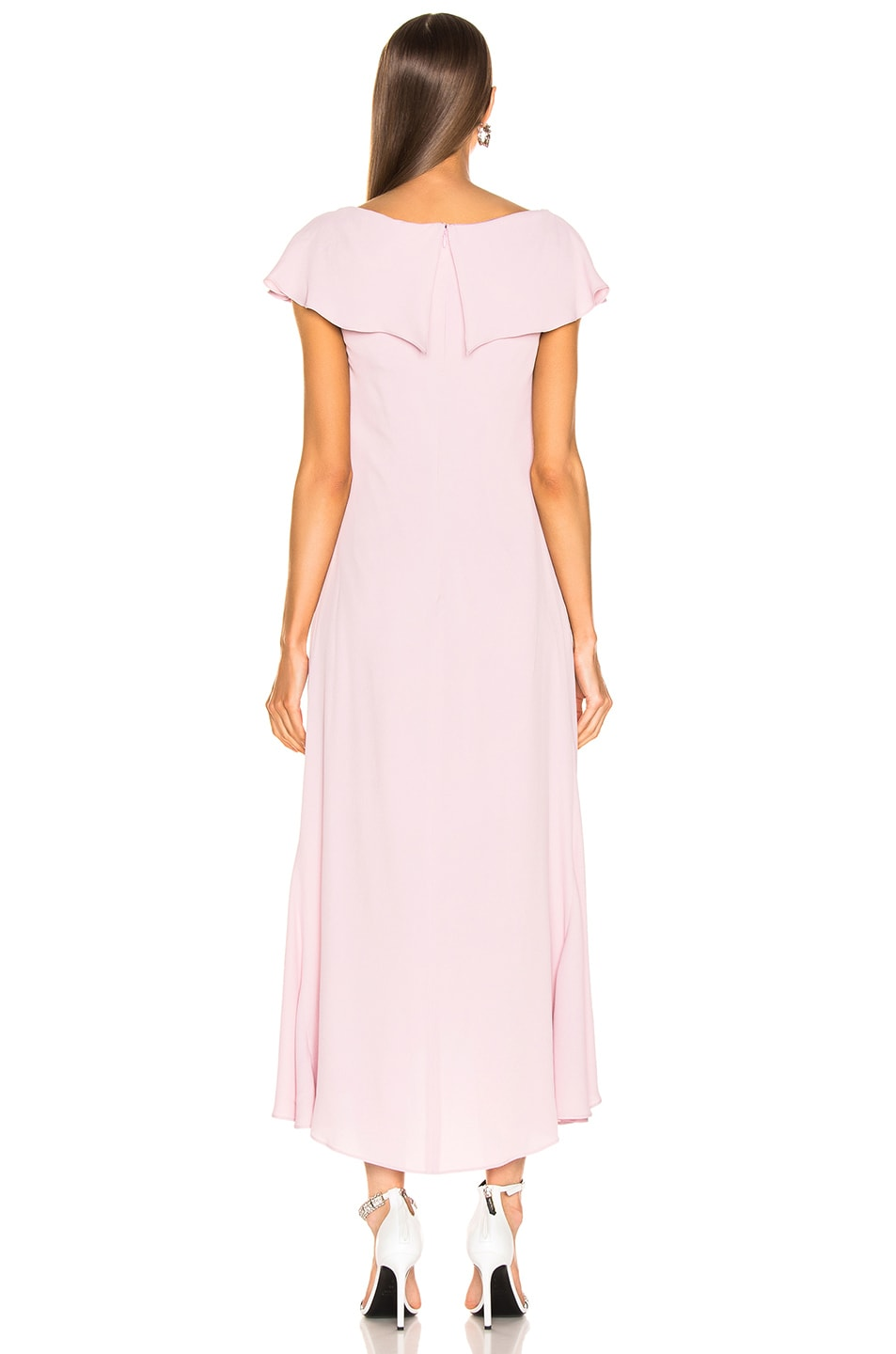 Image 3 of Sies Marjan Portia Marocaine Ruched Dress in Soft Pink