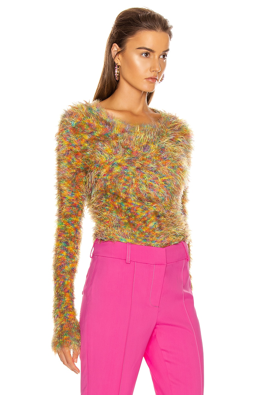 Image 2 of Sies Marjan Ange Multicolor Crewneck Sweater in Orange Multi