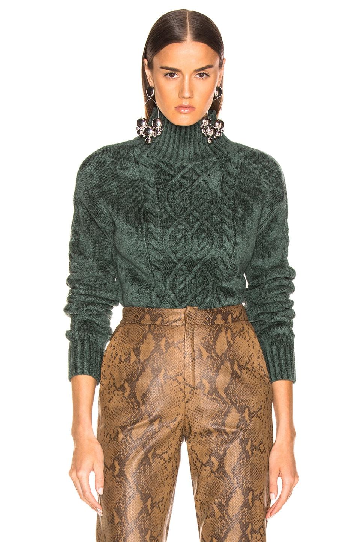 Image 1 of Sies Marjan Rory Mockneck Sweater in Seaweed
