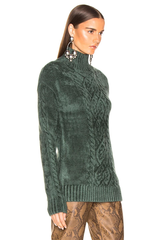 Image 2 of Sies Marjan Rory Mockneck Sweater in Seaweed