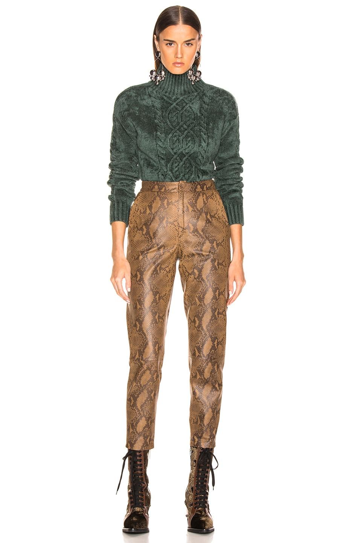 Image 4 of Sies Marjan Rory Mockneck Sweater in Seaweed