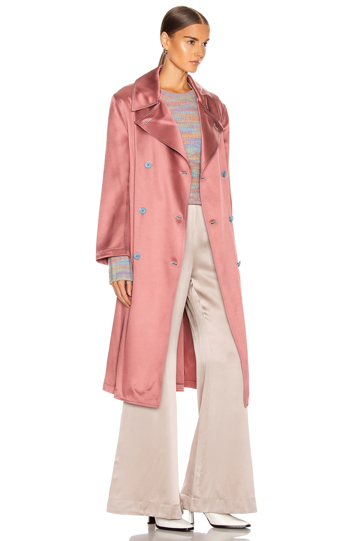 Image 3 of Sies Marjan Sigourney Trench Coat in Blush