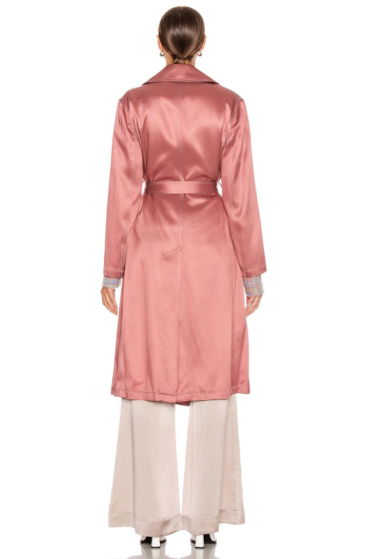 Image 4 of Sies Marjan Sigourney Trench Coat in Blush