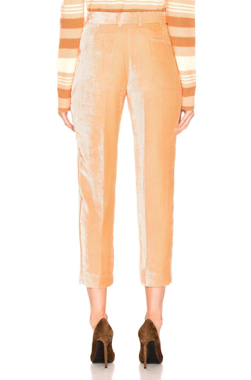 Image 3 of Sies Marjan Tatum Straight Leg Pant in Light Peach
