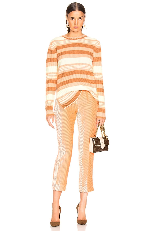 Image 4 of Sies Marjan Tatum Straight Leg Pant in Light Peach