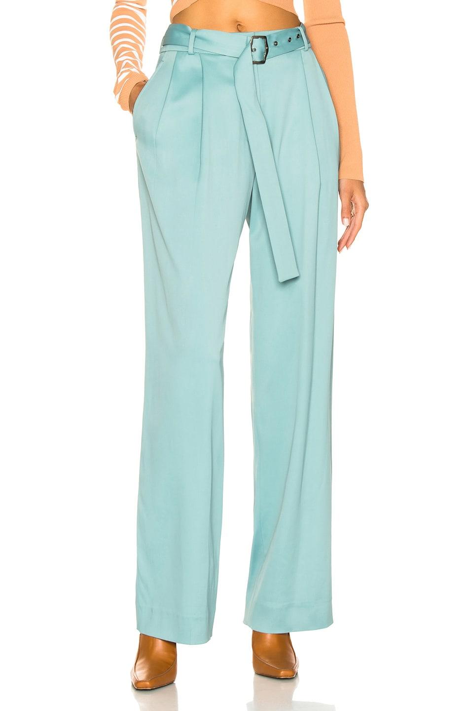 Image 1 of Sies Marjan Blanche Belted Pant in Soft Jade